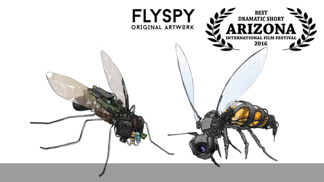 <strong>FlySpy</strong>&nbsp;&ndash;&nbsp;Best Dramatic Short